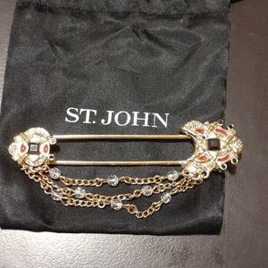 St. John Pin Brooch